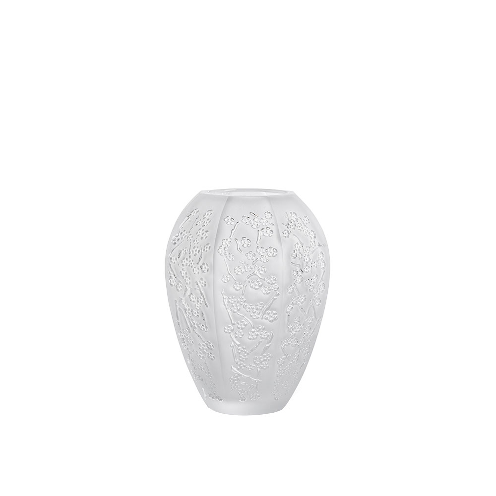 Sakura medium vase | Clear crystal | Vase Lalique