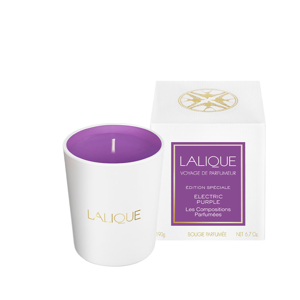 Les compositions parfumées, Electric Purple, Scented Candle