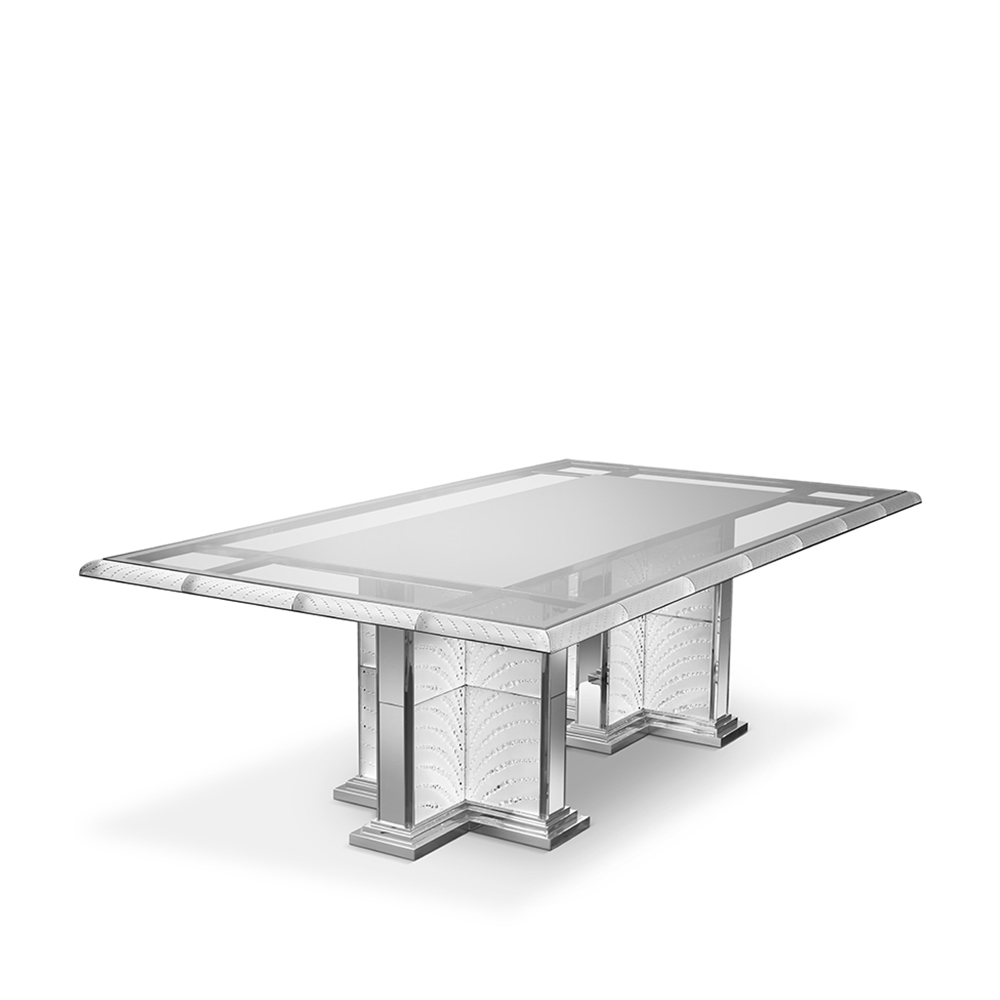Coutard table | Clear crystal | Pierre-Yves Rochon