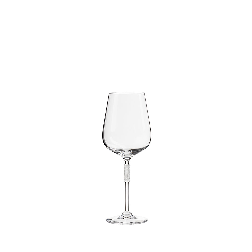 Merlot glass | Clear crystal | Glass Lalique