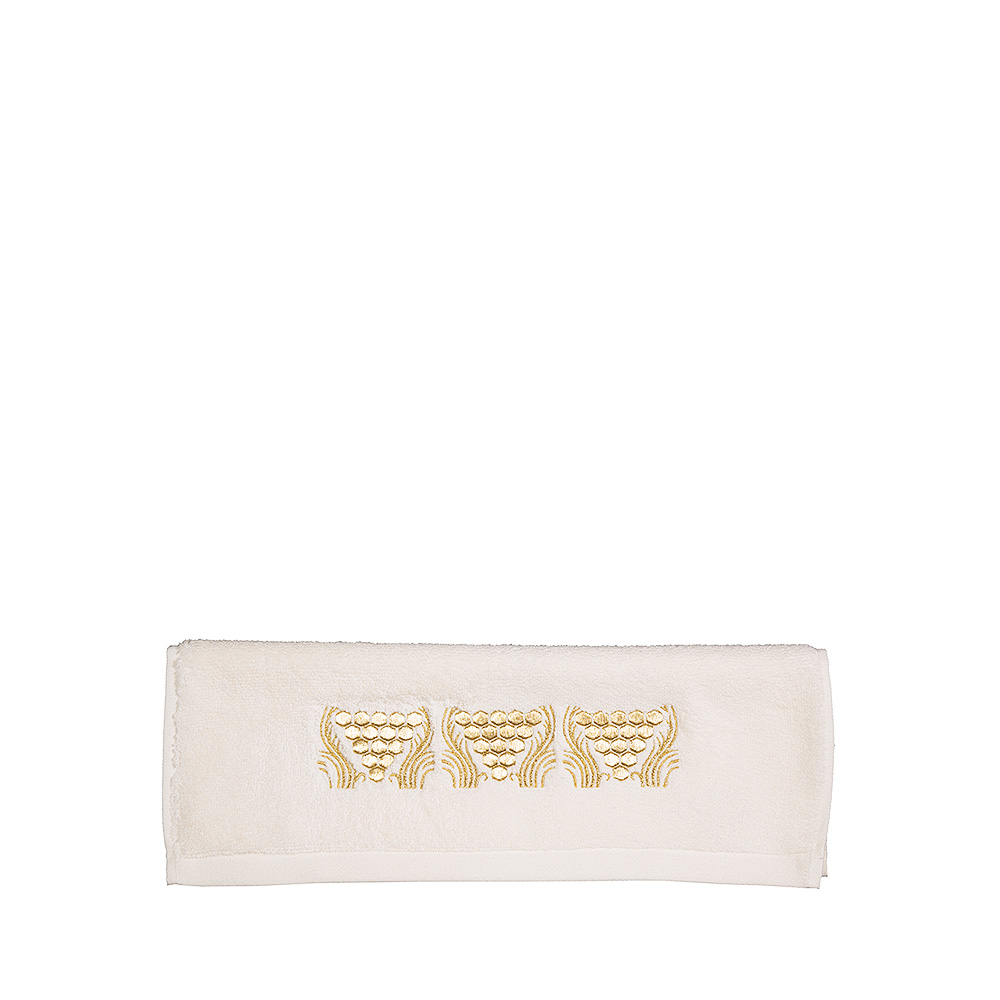 Raisins embroidered guest towel