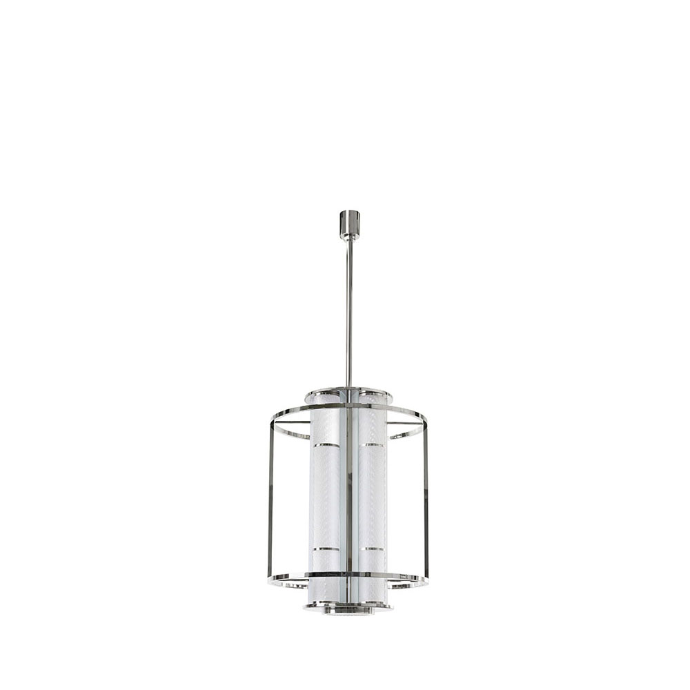Coutard Lantern LS | Clear crystal and Bright nickel | Pierre-Yves Rochon