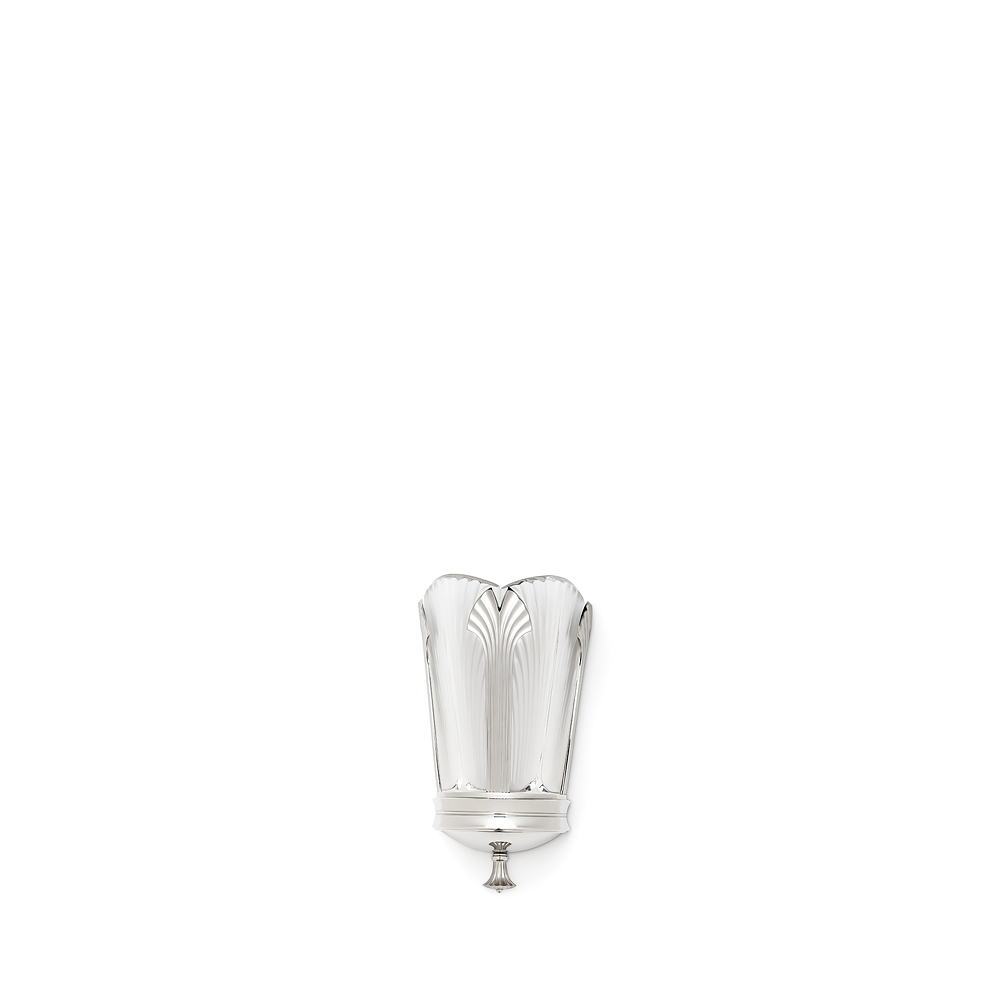 Ginkgo small wall sconce