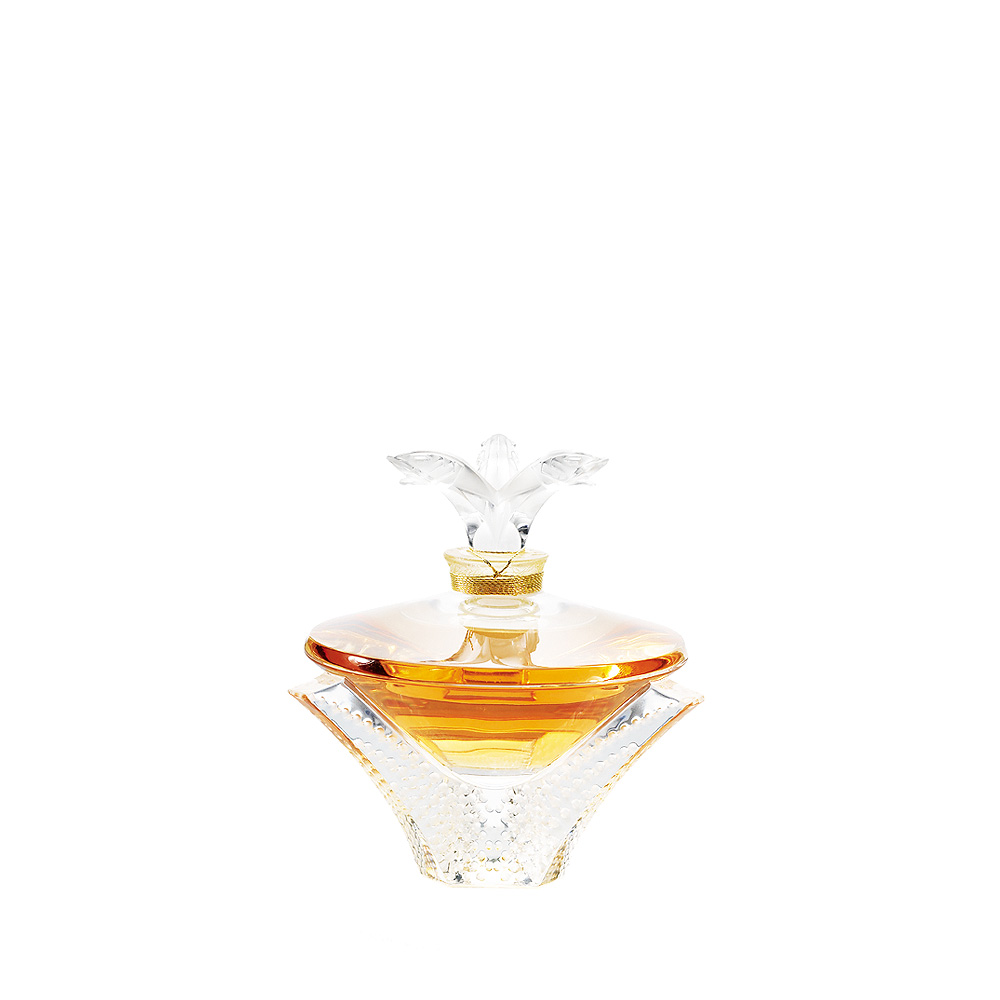 LALIQUE DE LALIQUE Crystal Flacon   Limited, Numbered and Signed Edition 2010, 100 ml (3.3 Fl. Oz.)   Lalique Parfums