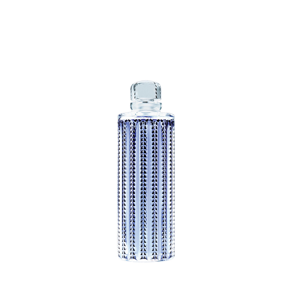 LALIQUE POUR HOMME FAUNE Crystal Flacon   Limited, Numbered and Signed Edition 2007, 100 ml (3.3 Fl. Oz.)   Lalique Parfums